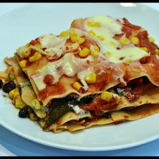 Vegetarian Lasagna with Goat Cheese.