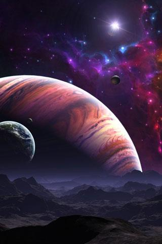 3D Planet Earth Wallpaper - screenshot