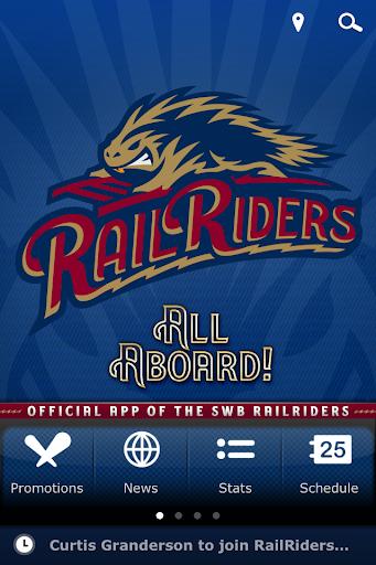 SWB RailRiders Baseball Team
