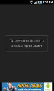 TapPad Counter