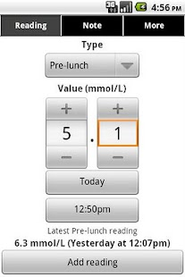 Glucool Diabetes Premium - screenshot thumbnail