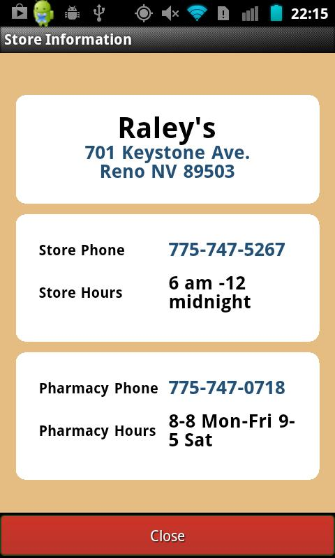 Raley's - screenshot