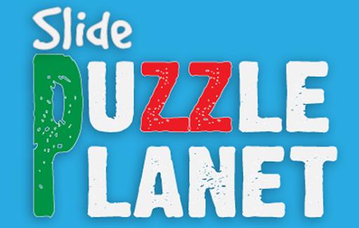 Slide Puzzle Planet
