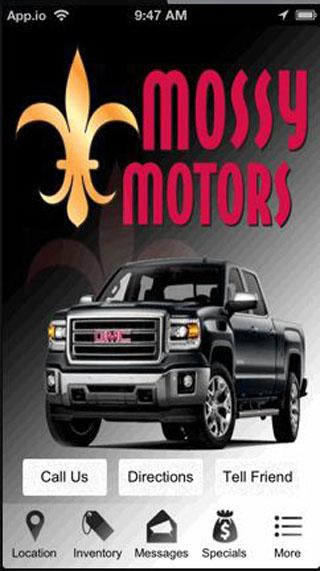 Mossy Motors Llc Android Apps On Google Play