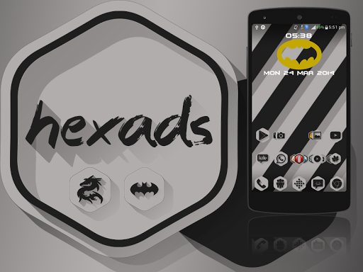 Hexads Icon Pack v1.0.2