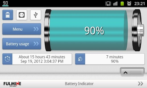 Battery Indicator- screenshot thumbnail