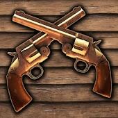 Cowboy gun battle