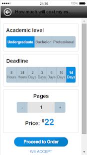 Custom writing service 7 page