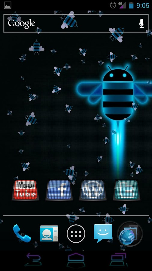 Live Wallpaper - Honeycomb LWP - screenshot
