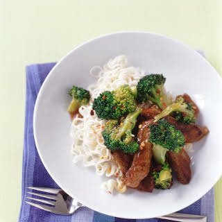 Beef and Broccoli Stir-Fry.