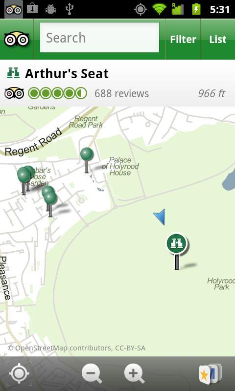 Edinburgh City Guide screenshot #2