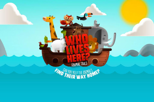 Who Lives Here ~ Animal Tails