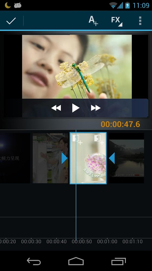Video Maker Movie Editor - screenshot