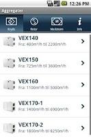 Screenshot of EXHAUSTOS VEX-OVERSIGT