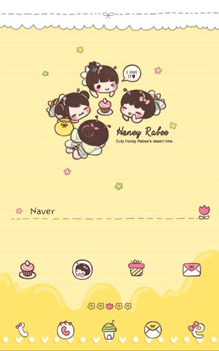 Honey labee Dodol Theme
