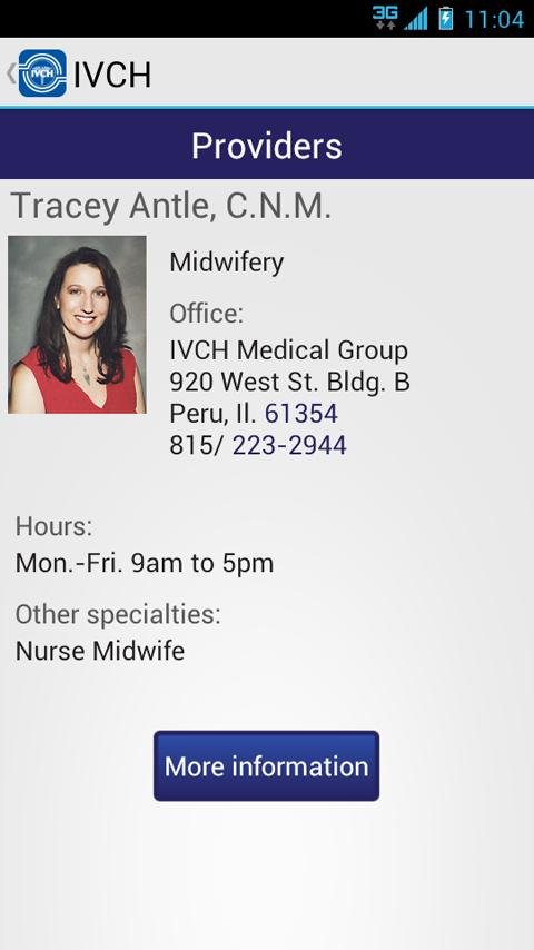 IL Valley Community Hospital- screenshot