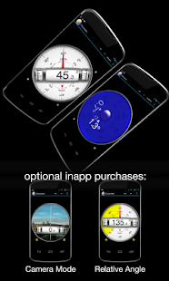 Clinometer  +  bubble level - screenshot thumbnail