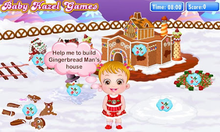 Baby Hazel Gingerbread House 6 screenshot 639480