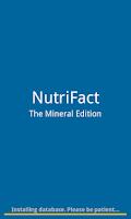 Screenshot of NutriFact :: Minerals