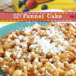 DIY Funnel Cake.