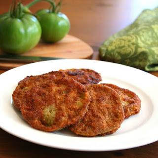 Low Carb Fried Green Tomatoes.