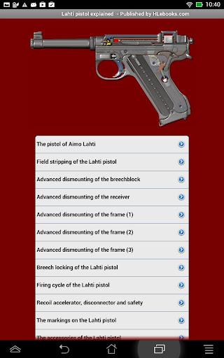 Lahti pistol explained