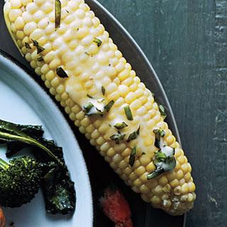 Garlic-Basil Corn