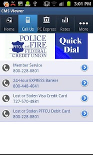 Police and Fire Federal Credit - screenshot thumbnail