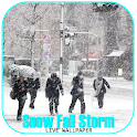 Snow Fall Storm LiveWallpaper