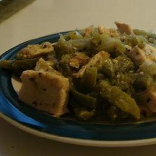 Pollo Con Nopales (Chicken and Cactus) Recipe