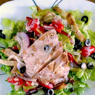 Fajita Salad with Pan Roasted Chicken
