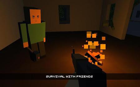 Cube Gun 3D : Zombie Island 1.0 screenshot 44154