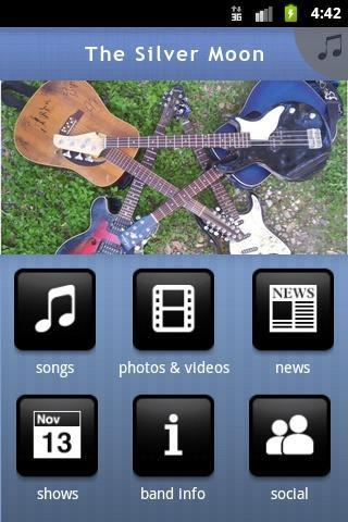 【免費音樂App】The Silver Moon-APP點子