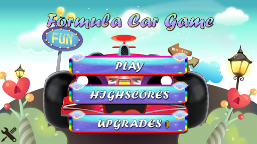 Formula Car Game for Android