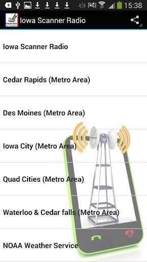 Scanner Radio Iowa FREE