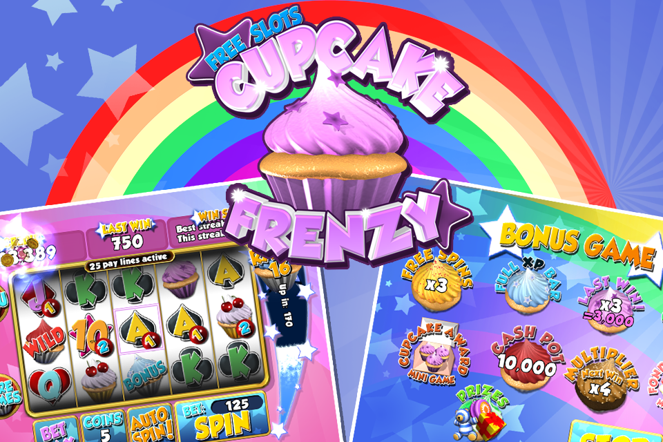 Cupcake Frenzy Slots- screenshot
