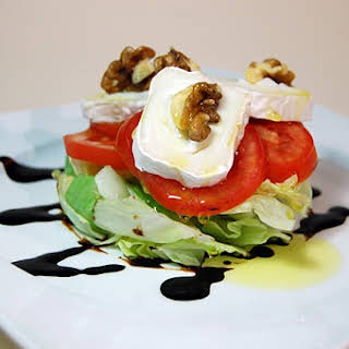 Goat Cheese and Nuts Salad.
