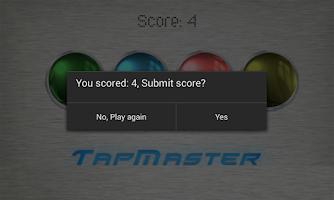 Screenshot of TapMaster - Speed Test