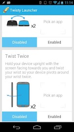 Twisty Launcher Screenshot 4
