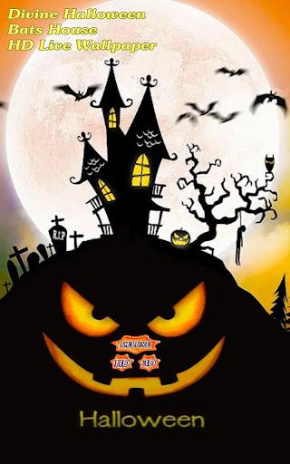 Divine Halloween Bats House