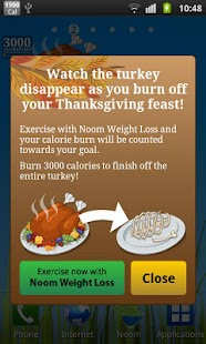 Burn the Turkey - Widget