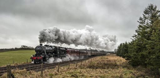 Steam train Live Wallpaper - Apps on Google Play