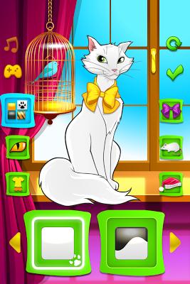 Pretty Cat Dress Up - screenshot