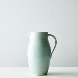 Blue Celadon Porcelain Pitcher
