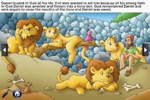Screenshot of Toddler Bible