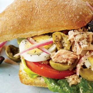 Mediterranean Tuna on a Roll.
