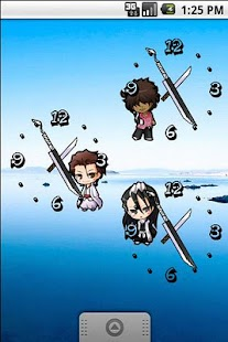 Bleach Chibi Analog Clock - screenshot thumbnail
