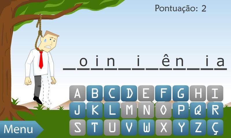 Jogo da Forca (BR)- screenshot