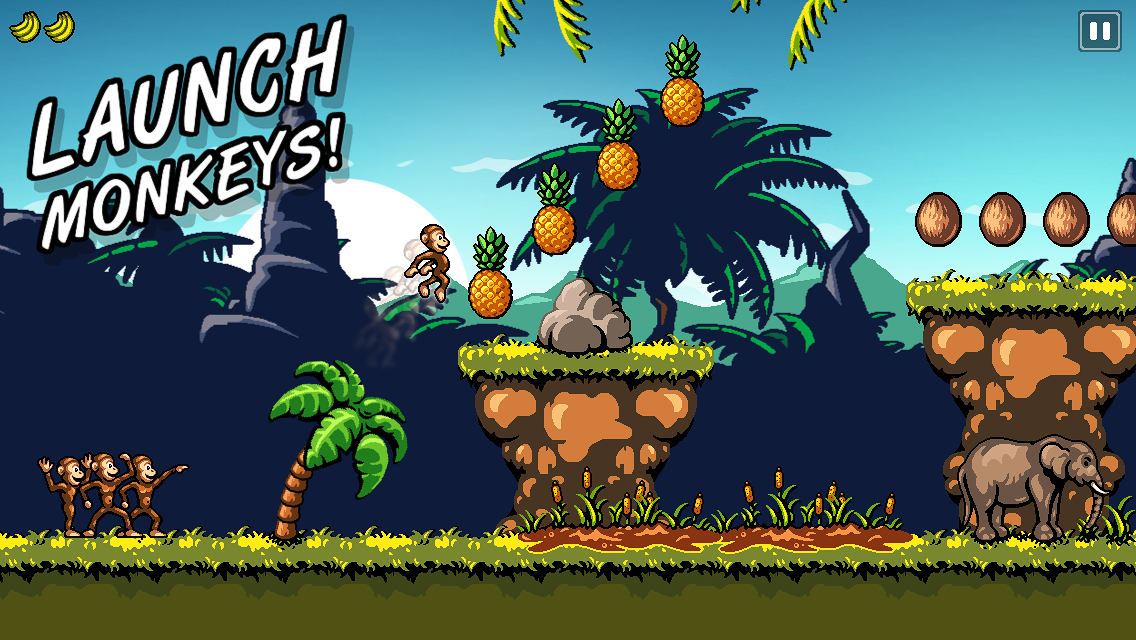Monkey Flight 2- screenshot