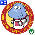 Lets Feed Danny FREE logo